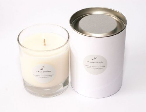 Clean Cotton Single Wick Candle